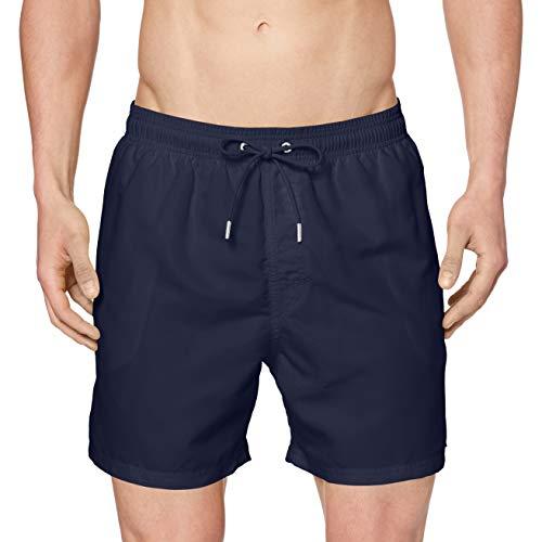 Schiesser Herren Swimshorts Shorts, Blau (Admiral 801), 7