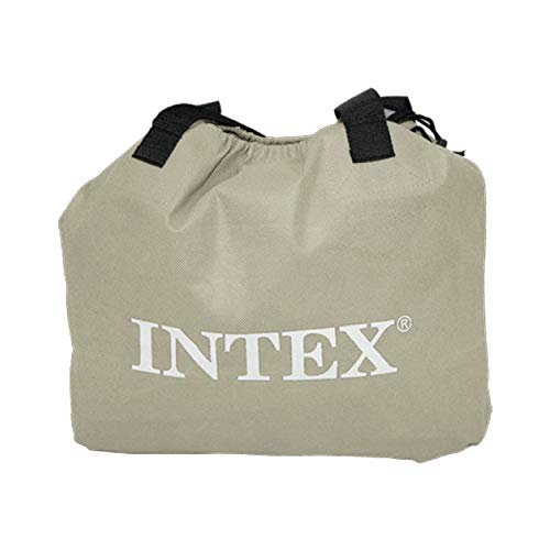 Intex 64414 - Fibertech comfortplush Colchón hinchable, 152 x 203 x 46 cm