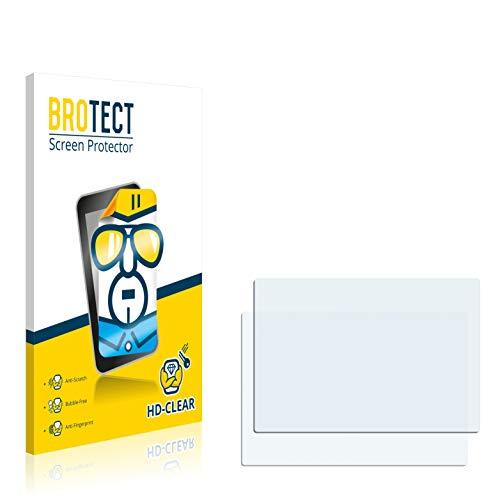BROTECT Schutzfolie kompatibel mit Colorfly Pocket HiFi C4 Pro (2 Stück) klare Displayschutz-Folie