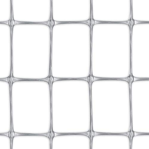 TENAX - Grillage plastique gris 1x10m (33x48mm)