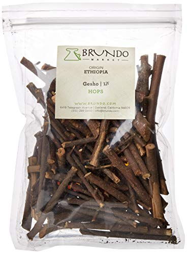 Gesho Entchet- Ethiopian Aroma Hops Stems; Made in and imported from Ethiopia, Non-GMO, organic