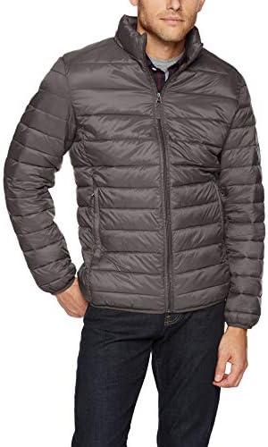 Amazon Essentials Men s Lightweight Water Resistant Packable Puffer Jacket Grey Medium product image