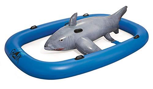 Bestway Tidal Wave Shark-Flotador, multicolor (41124)