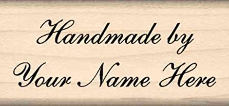 Stamps by Impression Custom Made Personalized Rubber Stamp (2 Line) Choice of Font