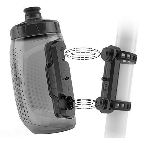 Fidlock Bottle 450 u. Uni Base Magnetischer Fahrrad Flaschenhalter Fahrrad Trinkflasche Fahrrad mit Halterung Getränkehalter Fahrrad Getränkehalter Trinkflaschenhalter Fahrrad Trinkflaschenhalterung
