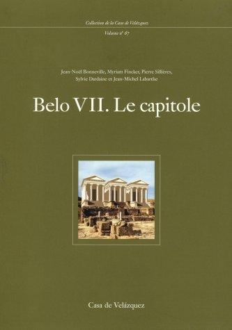 Belo VII: Le capitole: 67 (Collection de la Casa de Velázquez)