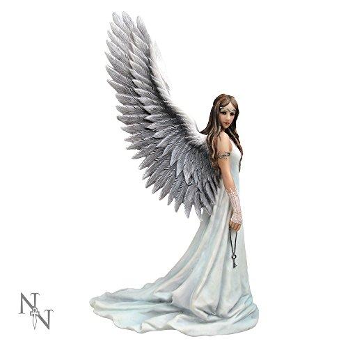 Nemesis Now Spirit Guide Figurine Anne Stokes en résine Blanc 24 cm