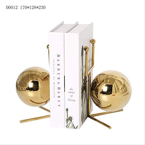 SHIYZII europäischer Stil, Moderne weiche Schnecke, kreatives Buchständer, Basteln, nordische Dekoration, galvanisiert, Edelstahl Ornamente