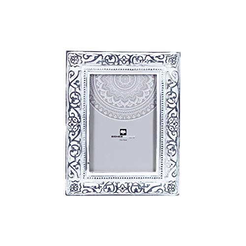 Art Deco Home 12829SG fotolijst, 10 x 15 cm, wit
