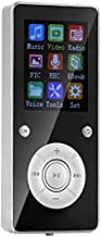 Gojiny MP3/MP4 Player, MP3 Players Portable Audio Video Player Mini Music Media Player Expandable up to 32G with BT FM Radio for Running