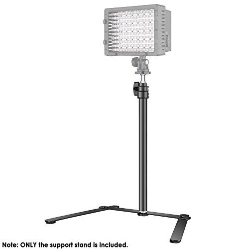 Neeewer Tisch Lichtstativbasis für LED-Feld und Ringlicht, 15,4-27 Zoll Einstellbare Halterung für Make-up, Selfie, Live-Show, Porträt, YouTube Fotografie Videoaufnahmen, Aluminiumlegierung