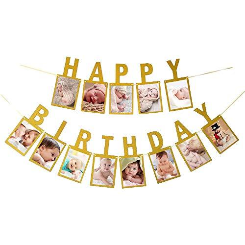 Happy Birthday Photo Banner