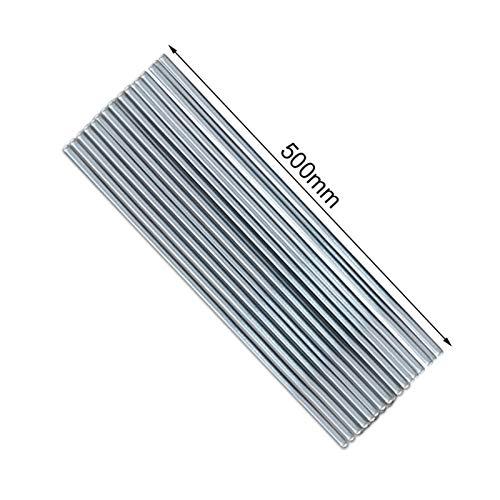 jidan Bequemer haltbarer Elektrodenschweißdraht 1.6mm / 2mm * 50cm Low Temperature Schweißdraht Aluminium Schweißdraht, anstatt, WE53 Aluminiumschweißdraht No Need Flux (Diameter : 10pcs 2mm)