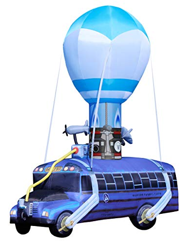 Fortnite Battle Bus Inflatable - 17.5 Ft | OFFICIALLY LICENSED