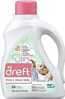 Dreft Active Baby Detergente, 2.9 Litros