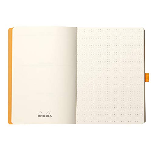 Rhodia Goalbook Journal, A5, Dotted - Daffodil Yellow Photo #6
