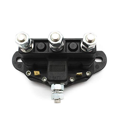 qazwsx Relés automotrices, Motor de automóvil de Motor de Camiones de automóvil, Interruptor de solenoide de reversión del Motor de retransmisión de 12 voltios, Interruptor de relé de Carga Dividida