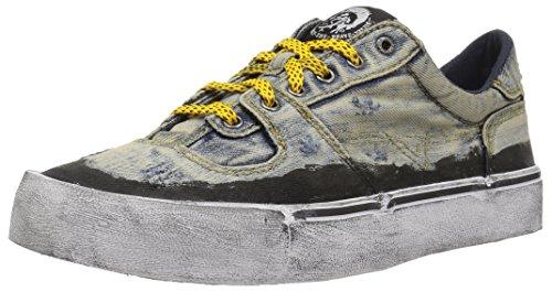 Diesel Herren S-flip Low Sneakers, Blau (Blue H3306), 42 EU