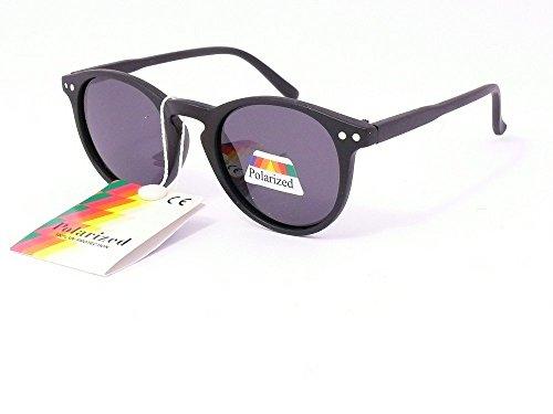 Sonnenbrille 4567jahren Sehstärke, polarisiert Polarised Kinder Mädchen Jungen 203004 monture noir mat verres gris âge :de 4 à 7 ans