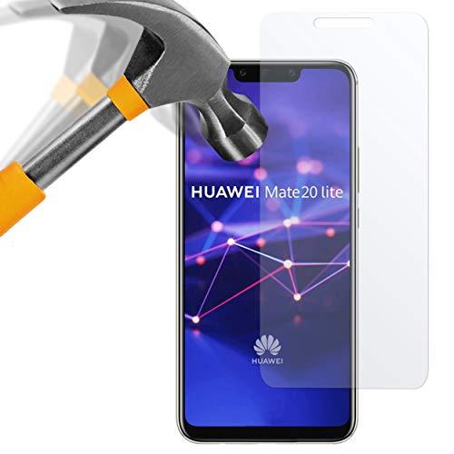 moodie Panzerglas Folie für Huawei Mate 20 Lite [2 Stück] Premium Glasfolie 9H Panzerglasfolie Schutzfolie für Huawei Mate 20 Lite