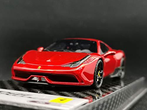 BBR Models 1/43 Scale Car Models Ferrari 458 Speciale 2013 Gloss F1 2007B Red BBRC132GF