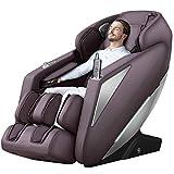 iRest Sillón de masaje con control de voz inteligente, masaje drenante para piernas, Zero Gravity, botón inteligente de selección rápida de programas de masaje, rieles SL, estiramiento de yoga