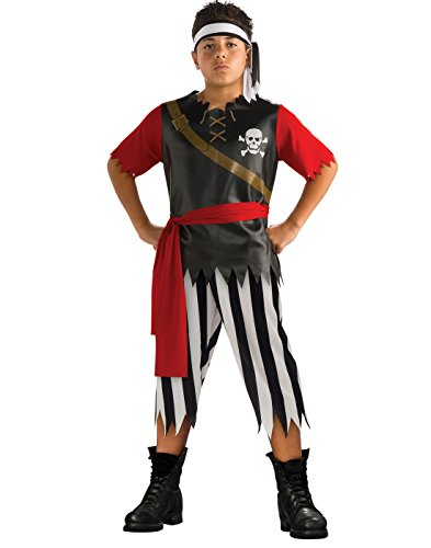 Pirate King - enfants Costume de déguisement - Medium - 132cm
