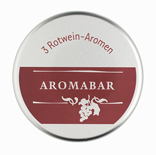 Aromabar Schnupperdose Rotwein