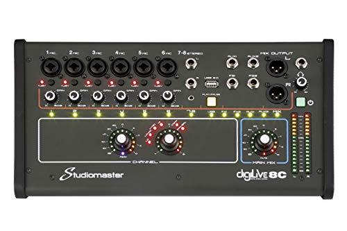 Studiomaster digiLivE 16 Mischpult, digital, motorisiert
