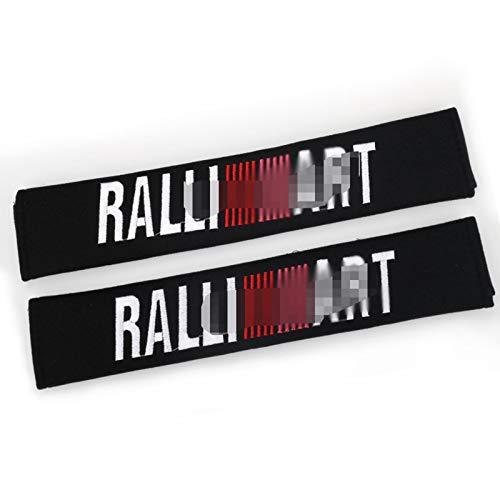 Embroidered Seat Belt Cover Shoulder Pads Set, 2 Pcs 33Cm/13Inch Auto Soft Seat Belt Cover,A
