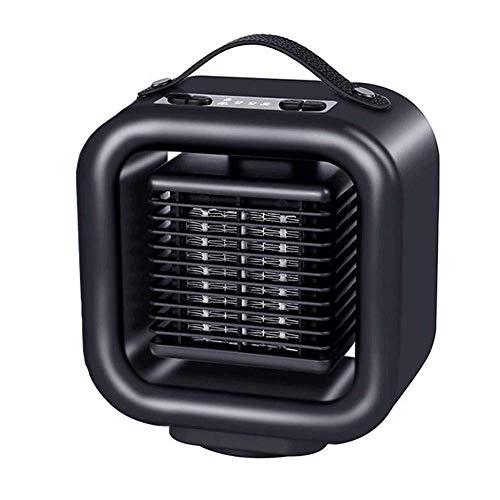 Dsnmm Ventilatore Stufa elettrica Elettrico con Tranquillo Tip-Over Protection surriscaldamento...