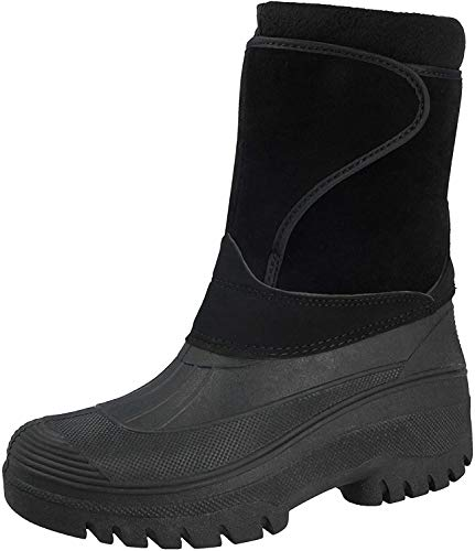 Groundwork Unisex Waterproof Soles Mucker Boots Black 89 UK 6