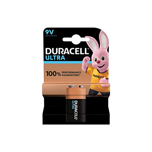 Duracell Ultra Power Alkaline Batterie mit Powercheck 9V (MX1604) 1 Stück