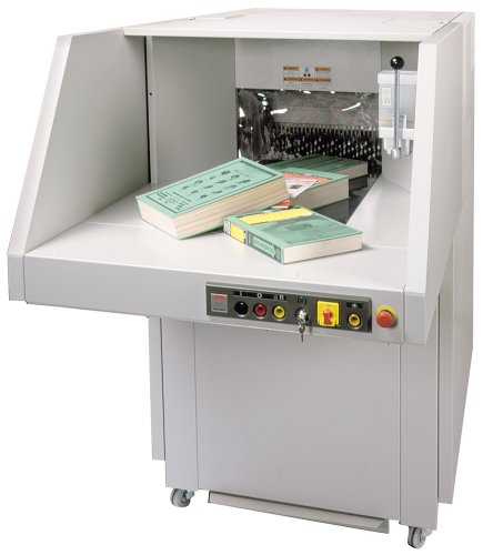 Check Out This SEM Model 7050P Heavy-Duty, High Volume Cross Cut Paper Shredder
