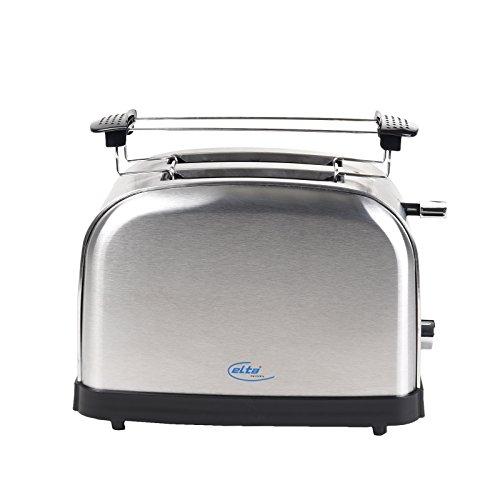 ELTA ETO-1000 Cool Touch Toaster, 1000 W, Edelstahl