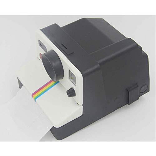 FHFF Creatieve Retro Polaroid Camera Vorm Geïnspireerd Tissue Boxes/Toilet Roll Papier Houder Doos Zonder Doos