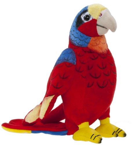 Heunec 285576 - Softissimo Papagei, 20 cm