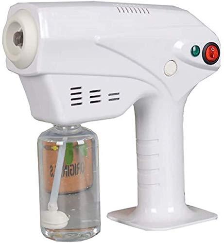 HKAFD Spray para el Cabello Nano Gentleman Hair Nano Vapor Pistola de Vapor Cuidado del Cabello Humidificador, cámara de Mano Profesional Nano Pelo Steam Salon, Reposición Profunda Capa Yqaae