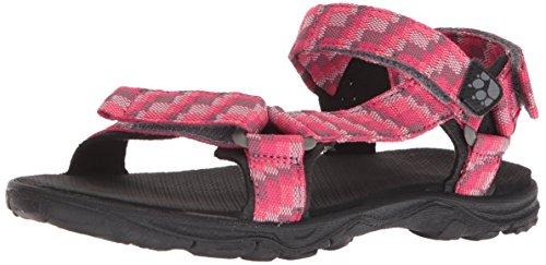 Jack Wolfskin Mädchen Seven SEAS 2 G Sport Sandalen, Pink (Tropic Pink 2145), 28 EU