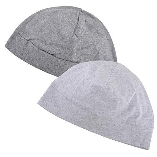 EINSKEY Skull Cap Herren Damen Leichte Dünne Mütze Chemo Kopfbedeckung Nachtmütze Baumwolle Radmütze Fahrradmütze Unter Helm