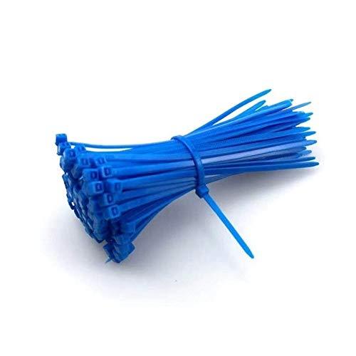 Cable de nylon 100pcs autobloqueante de nylon de uniones de cable 3...