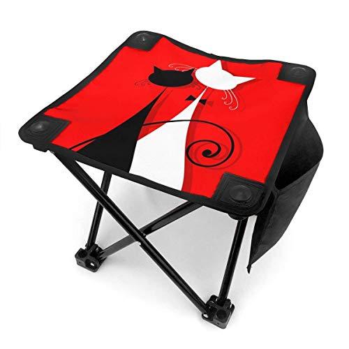 End Nazi Tabouret de Camping chaises Pliantes Robe de mariée Amant Chats Saint Valentin siège de Chaise Portable