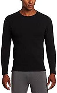 7b0d8d27 C9 Champion Mens Lightweight Stretch Thermal Underwear Shirts S/M, Black