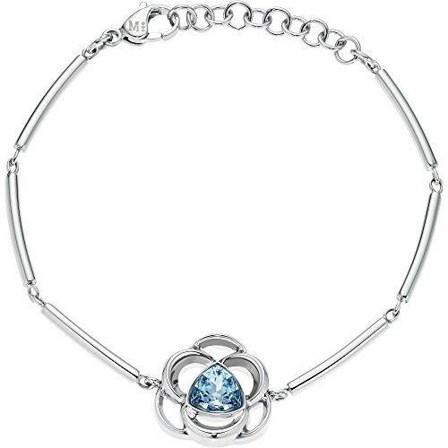 Morellato Bracciale da donna FIORDICIELO in acciaio inox con cristallo bianco SAGY05