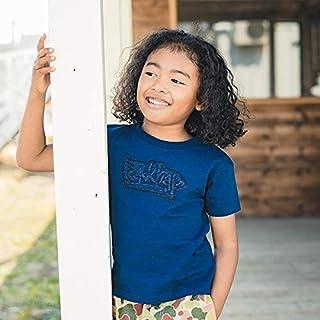 ブランシェス(branshes) デニムワッペン半袖Tシャツ