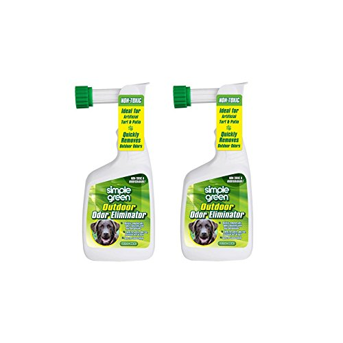 Simple Green Outdoor Odor Eliminator Hose End Sprayer for Pets, 32-Ounce (2-PACK)