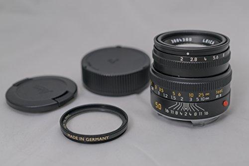 Leica Summicron-M 50 mm f/2 Negro - Objetivo (6/4, 0,7 m, 5,23 cm, 1:11.5, 40°, 27°)
