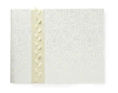 Goldbuch Foto-Gästebuch mit verdeckter Spirale, La Belle, 29 x 23 cm, 50 weiße Blankoseiten,...