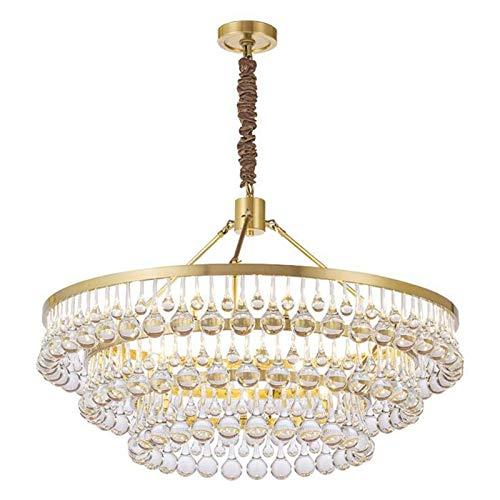Moderna Cristal Lámpara Colgante,Ronda Decora Lámpara De T
