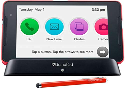 Our #7 Pick is the Consumer Cellular GrandPad Tablet for Seniors